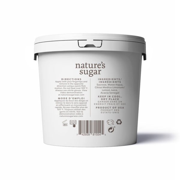 Nature's Sugar Wax Regular Back